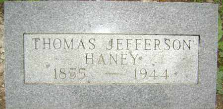 HANEY, THOMAS JEFFERSON - Sharp County, Arkansas | THOMAS JEFFERSON HANEY - Arkansas Gravestone Photos