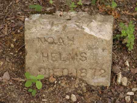 HELMS, NOAH - Sharp County, Arkansas   NOAH HELMS - Arkansas Gravestone Photos