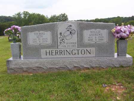 HERRINGTON, MAGGIE - Sharp County, Arkansas | MAGGIE HERRINGTON - Arkansas Gravestone Photos