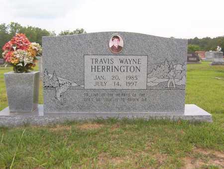 HERRINGTON, TRAVIS - Sharp County, Arkansas   TRAVIS HERRINGTON - Arkansas Gravestone Photos