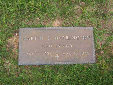 HERRINGTON (VETERAN), MARTIN - Sharp County, Arkansas | MARTIN HERRINGTON (VETERAN) - Arkansas Gravestone Photos