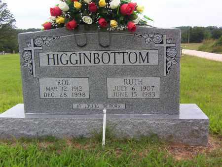HIGGINBOTTOM, RUTH - Sharp County, Arkansas | RUTH HIGGINBOTTOM - Arkansas Gravestone Photos