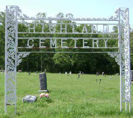 * HIGHLAND CEMETERY,  - Sharp County, Arkansas |  * HIGHLAND CEMETERY - Arkansas Gravestone Photos