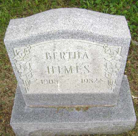 NORRIS HIMES, BERTHA - Sharp County, Arkansas | BERTHA NORRIS HIMES - Arkansas Gravestone Photos