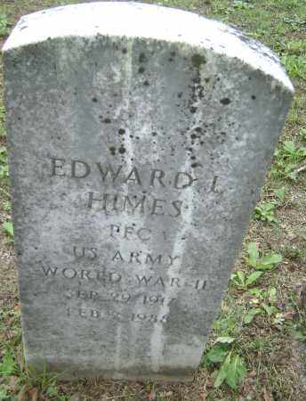 HIMES (VETERAN WWII), EDWARD L - Sharp County, Arkansas | EDWARD L HIMES (VETERAN WWII) - Arkansas Gravestone Photos