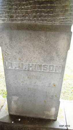 HINSON, ANBROSE J - Sharp County, Arkansas | ANBROSE J HINSON - Arkansas Gravestone Photos