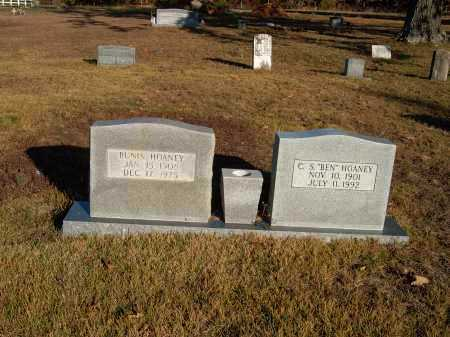 HOANEY, BUNIS - Sharp County, Arkansas   BUNIS HOANEY - Arkansas Gravestone Photos