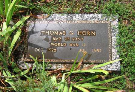 HORN  (VETERAN WWII), THOMAS G. - Sharp County, Arkansas   THOMAS G. HORN  (VETERAN WWII) - Arkansas Gravestone Photos