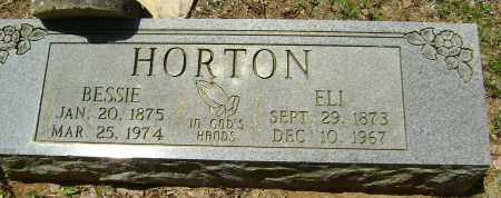 HORTON, ELI WILLIAM - Sharp County, Arkansas | ELI WILLIAM HORTON - Arkansas Gravestone Photos