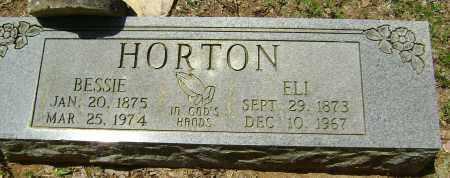 "HORTON, SARAH ELIZABETH ""BESSIE"" - Sharp County, Arkansas   SARAH ELIZABETH ""BESSIE"" HORTON - Arkansas Gravestone Photos"