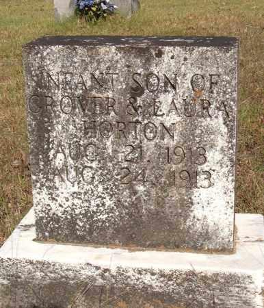 HORTON, INFANT SON - Sharp County, Arkansas   INFANT SON HORTON - Arkansas Gravestone Photos