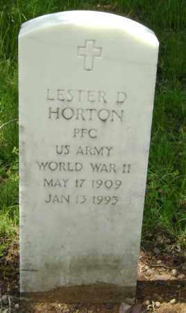 HORTON (VETERAN WWII), LESTER D. - Sharp County, Arkansas | LESTER D. HORTON (VETERAN WWII) - Arkansas Gravestone Photos