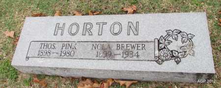 HORTON, NOLA - Sharp County, Arkansas | NOLA HORTON - Arkansas Gravestone Photos