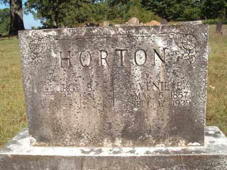 HORTON, GEORGE BURL - Sharp County, Arkansas   GEORGE BURL HORTON - Arkansas Gravestone Photos