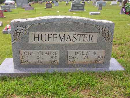 HUFFMASTER, JOHN CLAUDE - Sharp County, Arkansas | JOHN CLAUDE HUFFMASTER - Arkansas Gravestone Photos