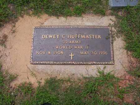 HUFFMASTER (VETERAN WWII), DEWEY - Sharp County, Arkansas | DEWEY HUFFMASTER (VETERAN WWII) - Arkansas Gravestone Photos