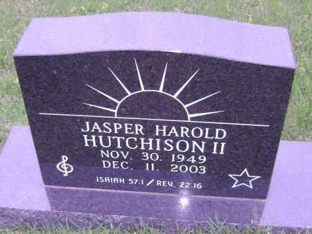 HUTCHISON II, JASPER HAROLD - Sharp County, Arkansas | JASPER HAROLD HUTCHISON II - Arkansas Gravestone Photos