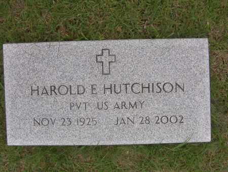 HUTCHISON (VETERAN), HAROLD - Sharp County, Arkansas | HAROLD HUTCHISON (VETERAN) - Arkansas Gravestone Photos