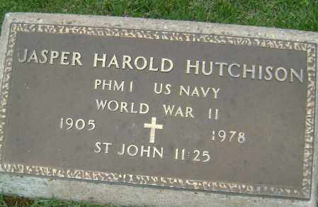 HUTCHISON (VETERAN WWII), JASPER HAROLD - Sharp County, Arkansas   JASPER HAROLD HUTCHISON (VETERAN WWII) - Arkansas Gravestone Photos