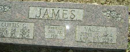 JAMES, CURTIS G. - Sharp County, Arkansas | CURTIS G. JAMES - Arkansas Gravestone Photos