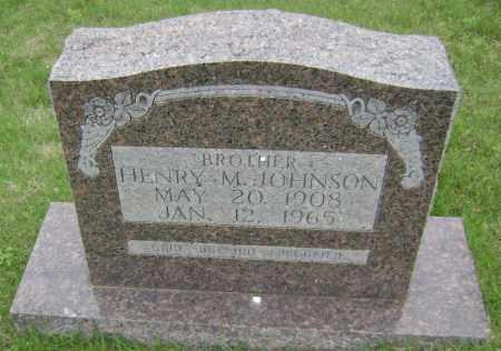 JOHNSON, HENRY M - Sharp County, Arkansas   HENRY M JOHNSON - Arkansas Gravestone Photos