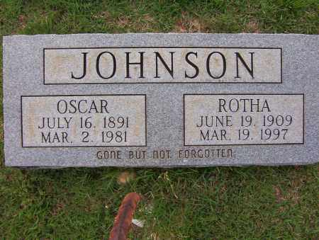 JOHNSON, OSCAR - Sharp County, Arkansas | OSCAR JOHNSON - Arkansas Gravestone Photos