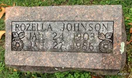JOHNSON, ROZELLA - Sharp County, Arkansas | ROZELLA JOHNSON - Arkansas Gravestone Photos