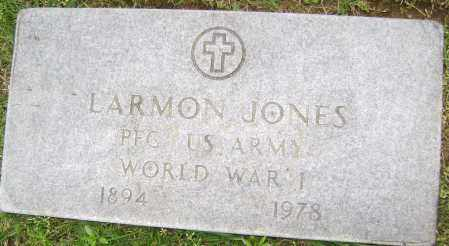 JONES (VETERAN WWI), LARMON - Sharp County, Arkansas | LARMON JONES (VETERAN WWI) - Arkansas Gravestone Photos