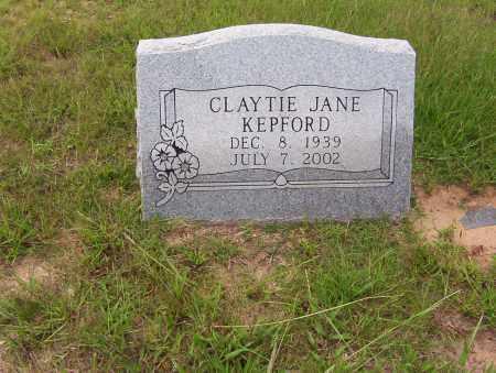 KEPFORD, CLAYTIE JANE - Sharp County, Arkansas | CLAYTIE JANE KEPFORD - Arkansas Gravestone Photos