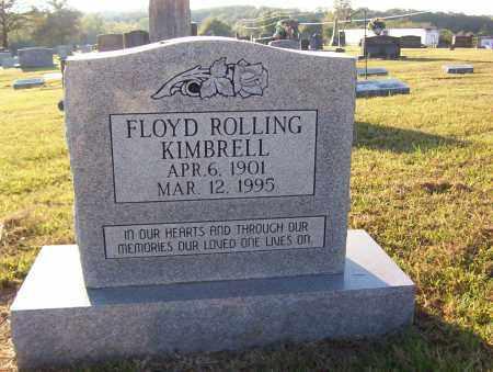 KIMBRELL, FLOYD ROLLING - Sharp County, Arkansas | FLOYD ROLLING KIMBRELL - Arkansas Gravestone Photos