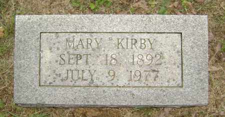 KIRBY, MARY - Sharp County, Arkansas | MARY KIRBY - Arkansas Gravestone Photos