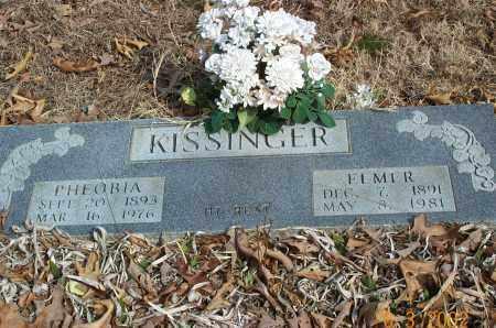 BARNES KISSINGER, PHEOBIA LUCINDA - Sharp County, Arkansas | PHEOBIA LUCINDA BARNES KISSINGER - Arkansas Gravestone Photos