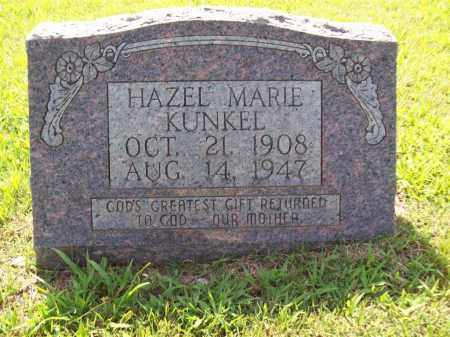 KUNKEL, HAZEL MARIE - Sharp County, Arkansas | HAZEL MARIE KUNKEL - Arkansas Gravestone Photos