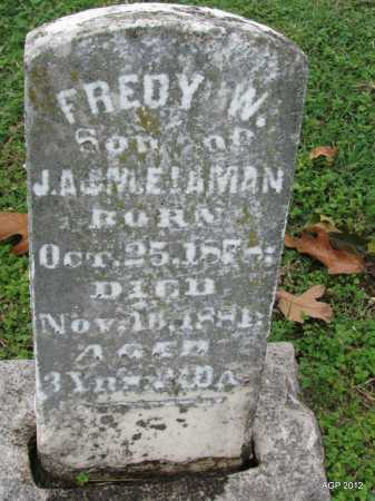 "LAMAN, FRED WILLIAM ""FREDDY"" - Sharp County, Arkansas 