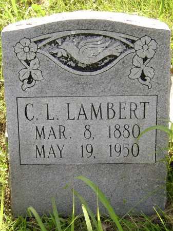 LAMBERT, CALVIN L. - Sharp County, Arkansas | CALVIN L. LAMBERT - Arkansas Gravestone Photos