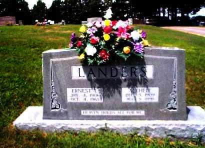 LANDERS, ALTHELL - Sharp County, Arkansas | ALTHELL LANDERS - Arkansas Gravestone Photos