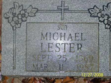 LESTER, MICHEAL - Sharp County, Arkansas | MICHEAL LESTER - Arkansas Gravestone Photos