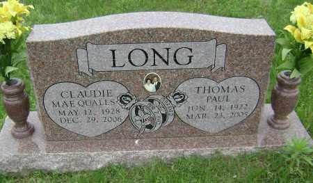 LONG, CLAUDIE MAE - Sharp County, Arkansas | CLAUDIE MAE LONG - Arkansas Gravestone Photos