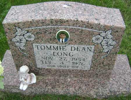 LONG, TOMMIE DEAN - Sharp County, Arkansas | TOMMIE DEAN LONG - Arkansas Gravestone Photos
