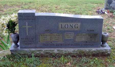 LONG, WAYBURN DONALD - Sharp County, Arkansas | WAYBURN DONALD LONG - Arkansas Gravestone Photos