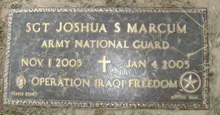 MARCUM (VETERAN IRAQ, KIA), JOSHUA S - Sharp County, Arkansas | JOSHUA S MARCUM (VETERAN IRAQ, KIA) - Arkansas Gravestone Photos