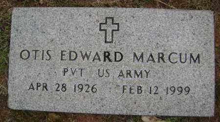 MARCUM (VETERAN WWII), OTIS EDWARD - Sharp County, Arkansas | OTIS EDWARD MARCUM (VETERAN WWII) - Arkansas Gravestone Photos