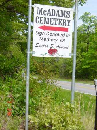 *MCADAMS CEMETERY,  - Sharp County, Arkansas    *MCADAMS CEMETERY - Arkansas Gravestone Photos