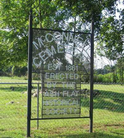*MCCONNELL CEMETERY,  - Sharp County, Arkansas |  *MCCONNELL CEMETERY - Arkansas Gravestone Photos