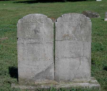 MCCONNELL, MARY E. - Sharp County, Arkansas   MARY E. MCCONNELL - Arkansas Gravestone Photos