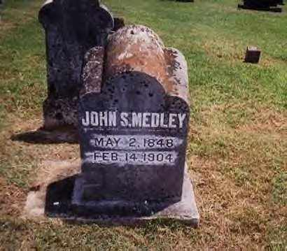 MEDLEY, JOHN SAMUEL - Sharp County, Arkansas | JOHN SAMUEL MEDLEY - Arkansas Gravestone Photos