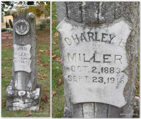 MILLER, CHARLEY L. - Sharp County, Arkansas | CHARLEY L. MILLER - Arkansas Gravestone Photos