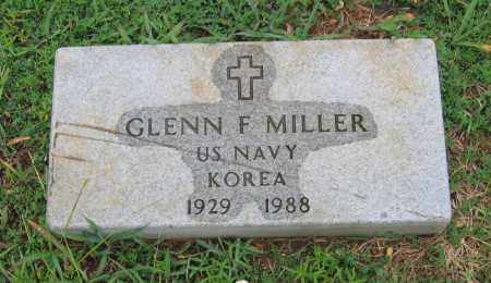 MILLER (VETERAN KOR), GLENN F. - Sharp County, Arkansas | GLENN F. MILLER (VETERAN KOR) - Arkansas Gravestone Photos