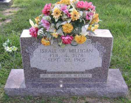 MILLIGAN, ISRAEL WASHINGTON - Sharp County, Arkansas | ISRAEL WASHINGTON MILLIGAN - Arkansas Gravestone Photos