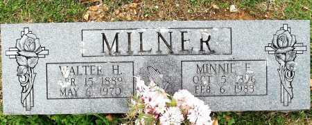 MILNER, WALTER HARRISON - Sharp County, Arkansas | WALTER HARRISON MILNER - Arkansas Gravestone Photos